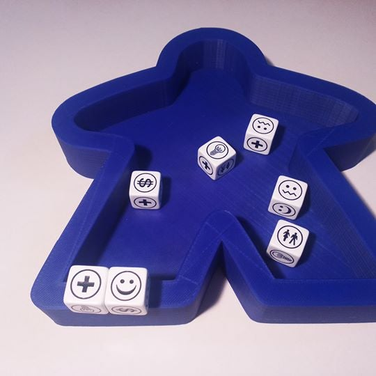 Image of Dice Tray - Meeple