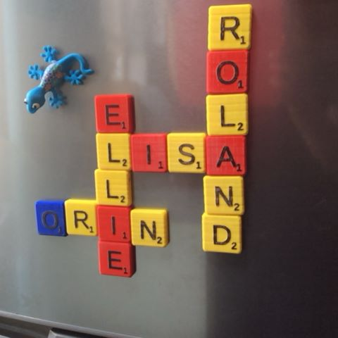 Image of Magnetic Letter Tiles