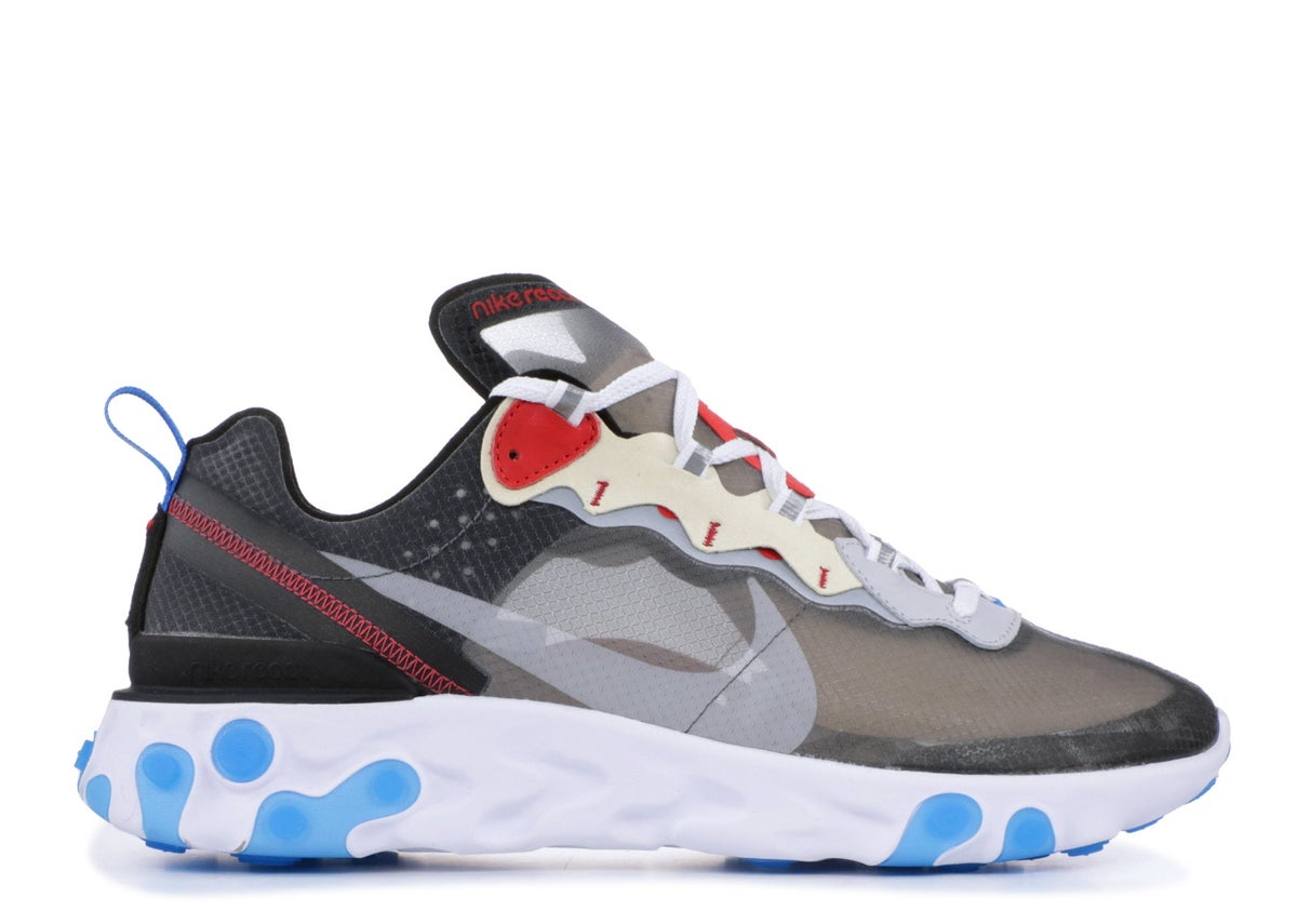 Image of NIKE REACT ELEMENT 87 DARK GREY