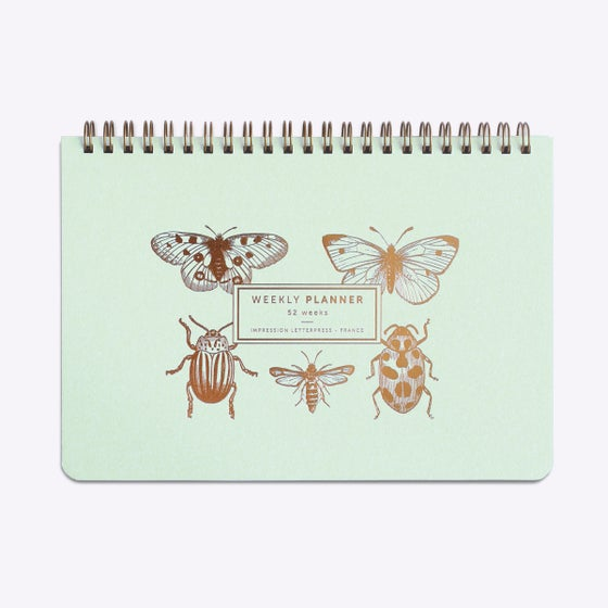 Image of PLANNER / SEMAINIER PAPILLONS & CIE