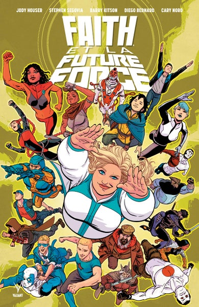 Image of Faith et la Future Force, signé par Barry Kitson
