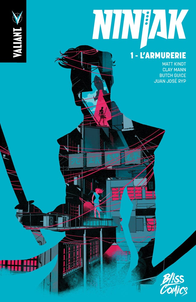 Image of Ninjak Tome 1 : l'Armurerie