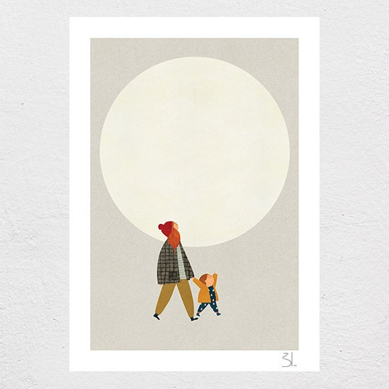 Image of Under the Moon Print