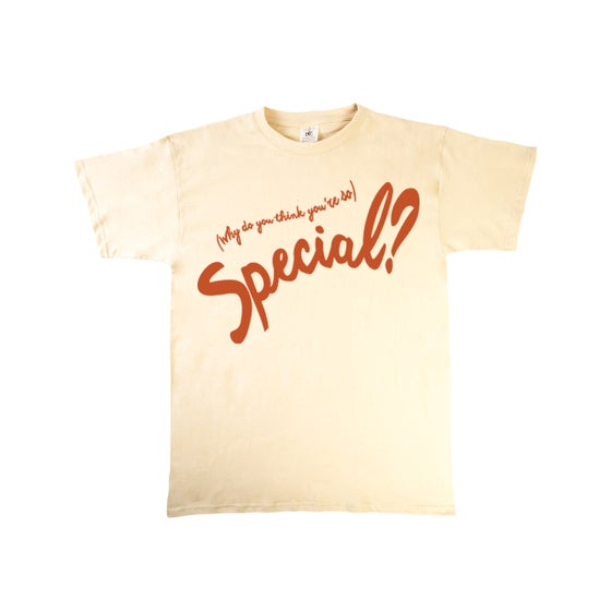 Image of 'Special?' T-Shirt (Sand/Brown)