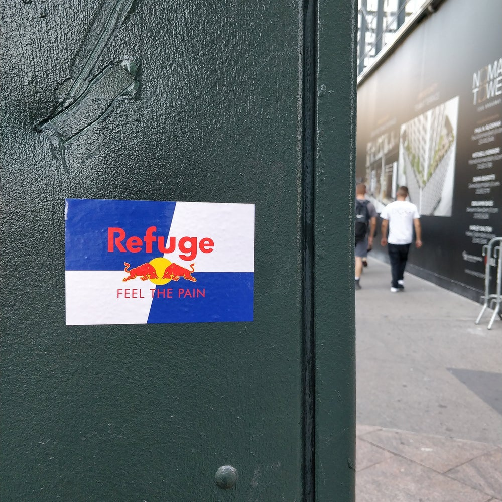 Image of Red Bull stickers