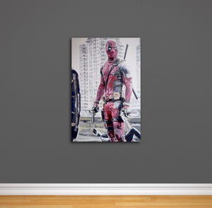 Image of Deadpool 'Zippidy Doo Da' Hand Painted Original