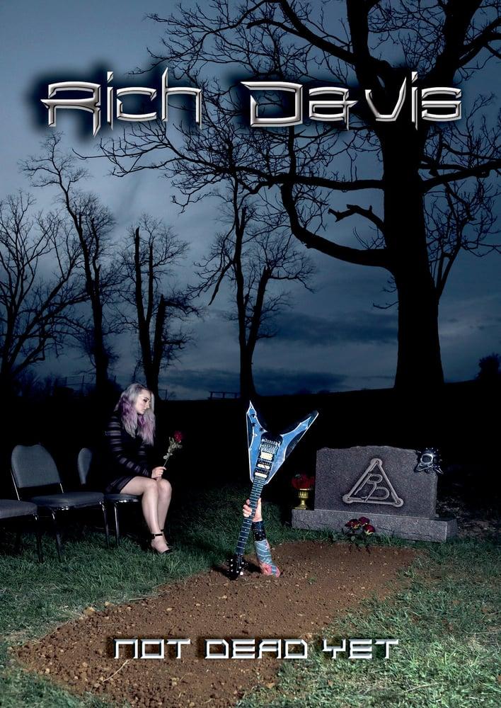 "Image of Rich Davis ""Not Dead Yet"" CD/DVD 2018"
