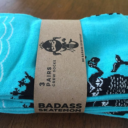 Image of 3-Pack Fearless Badass Socks