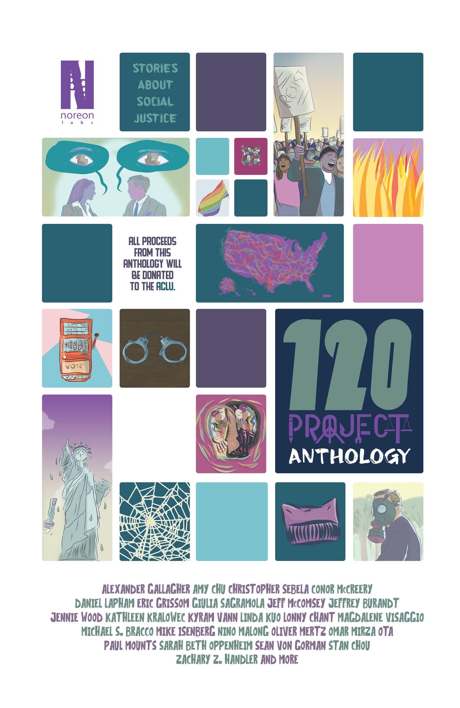 Image of 120 Project Comic Anthology