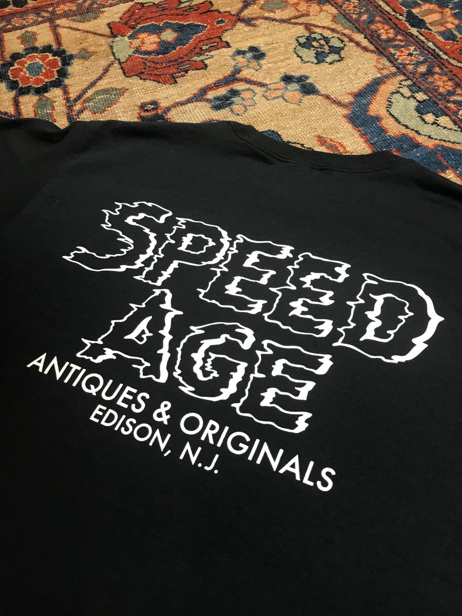 Image of Speed Age Antiques & Originals T-Shirt (First Run)