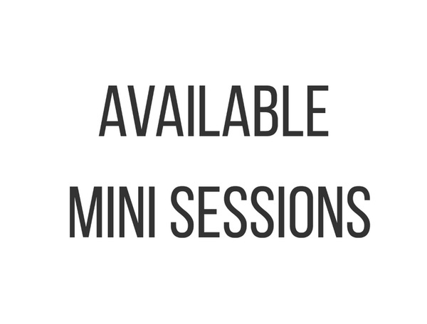 Image of Available Mini Session Dates