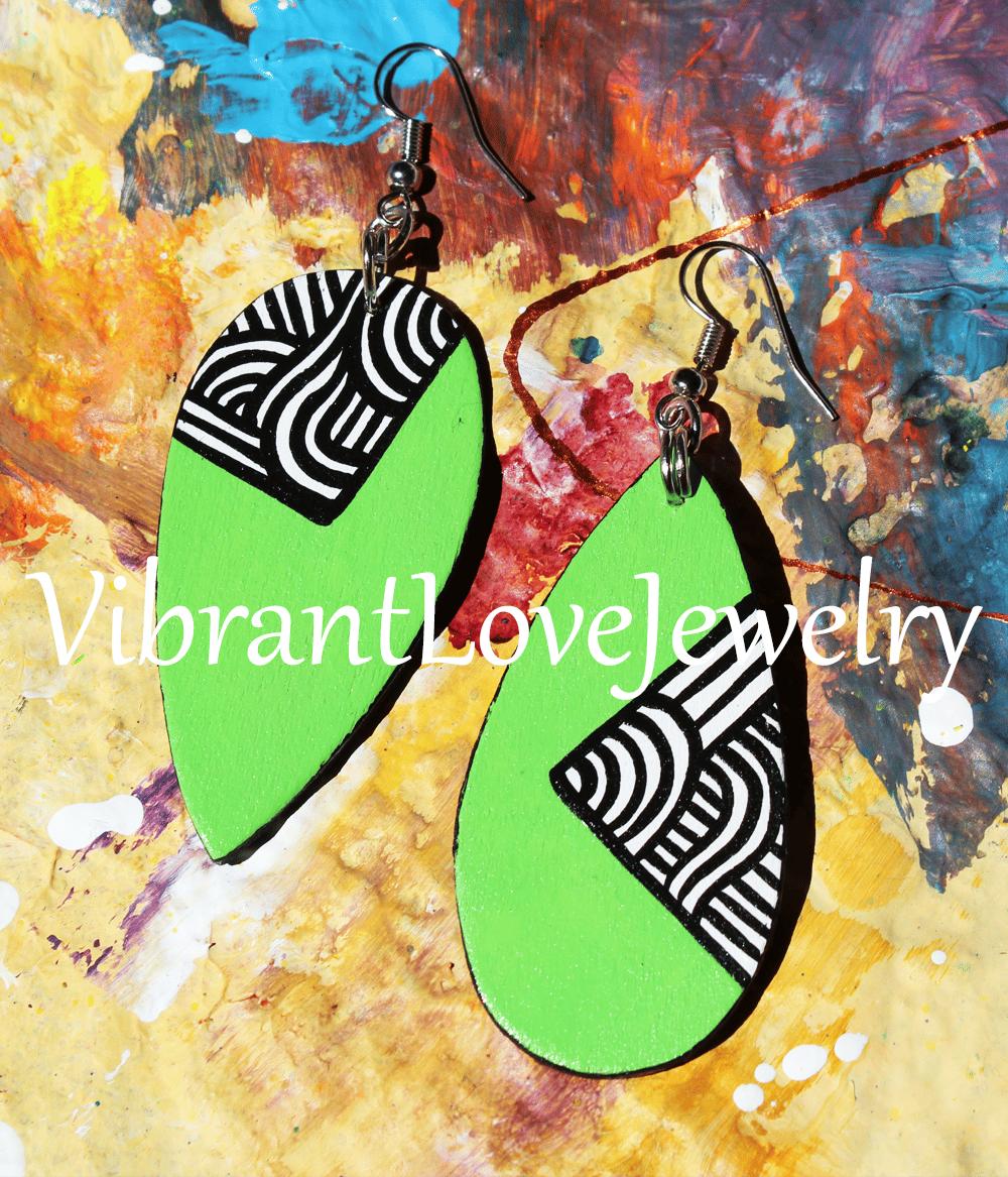 "Image of ""Limeade"" Earrings"