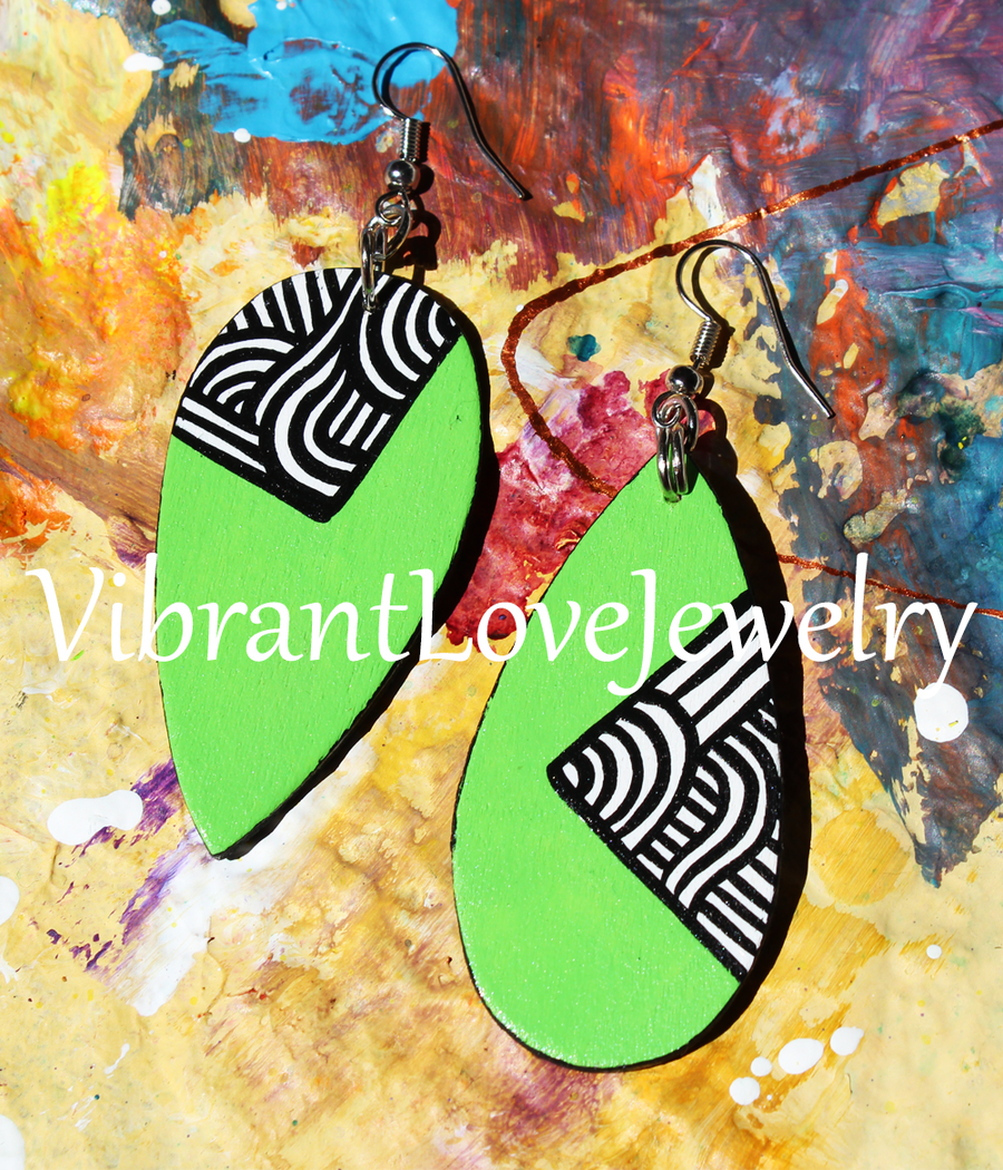 "Image of ""Limeade"" Earrings"