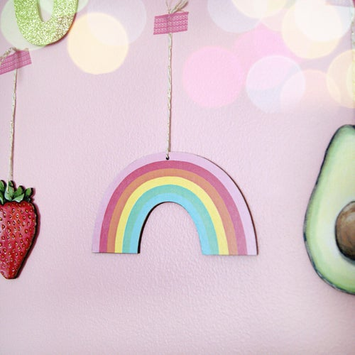 Image of Rainbow Everyday Ornament