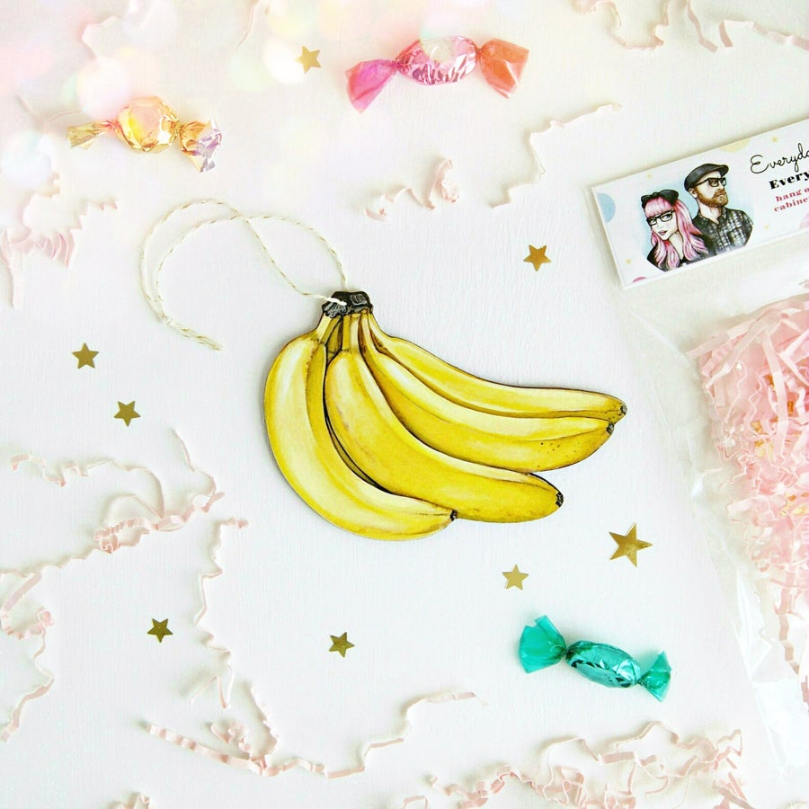 Image of Bunch of Bananas Everyday Ornament