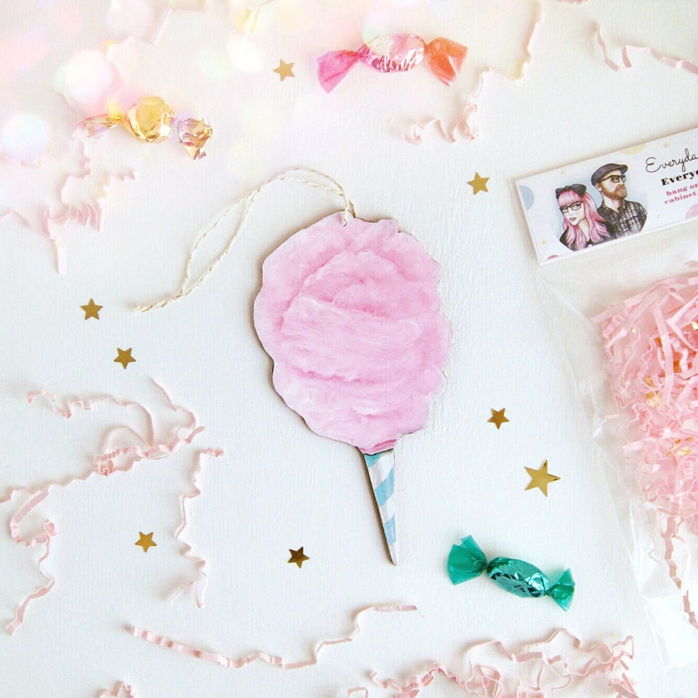 Image of Cotton Candy Everyday Ornament