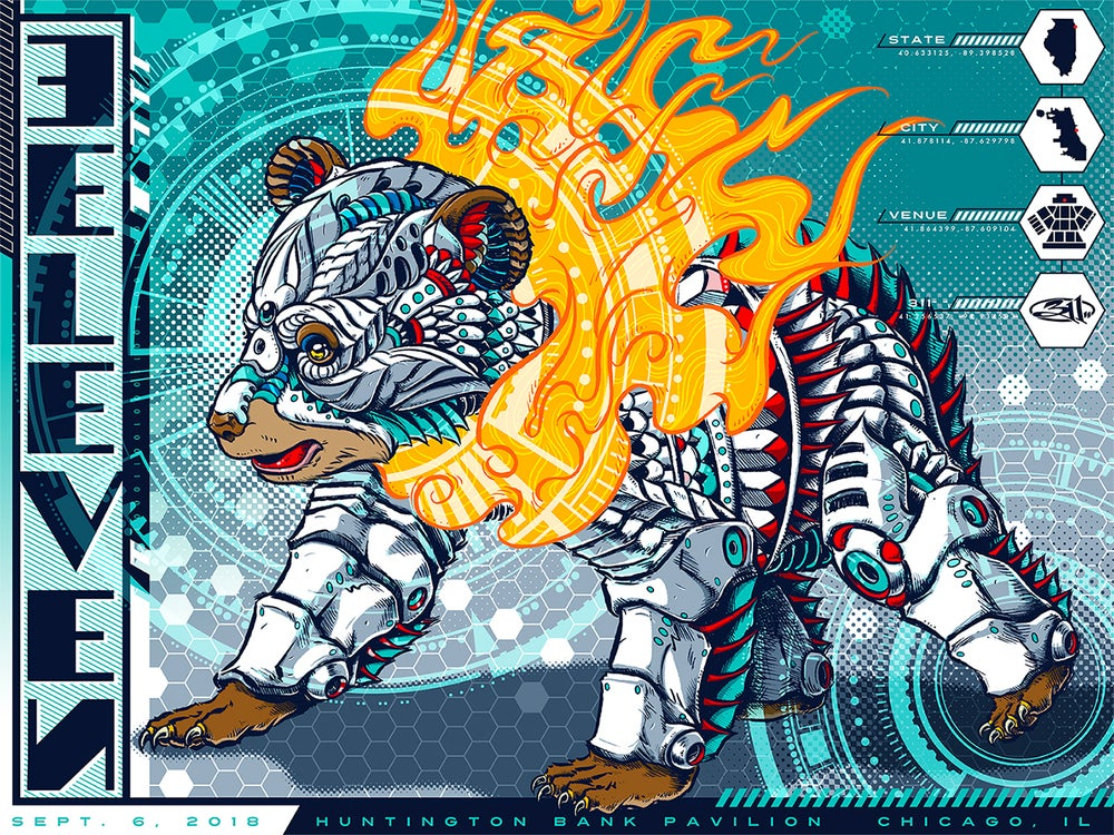 Image of 311 Chicago Posters
