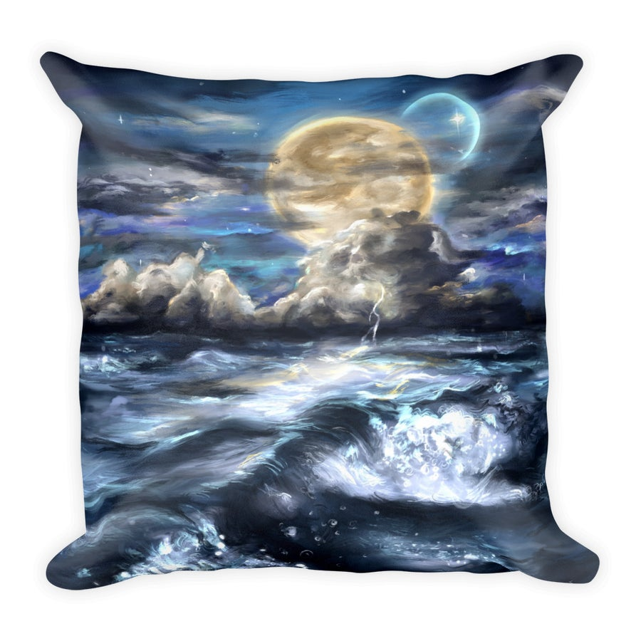 "Image of ""Moonlit"" Pillow"