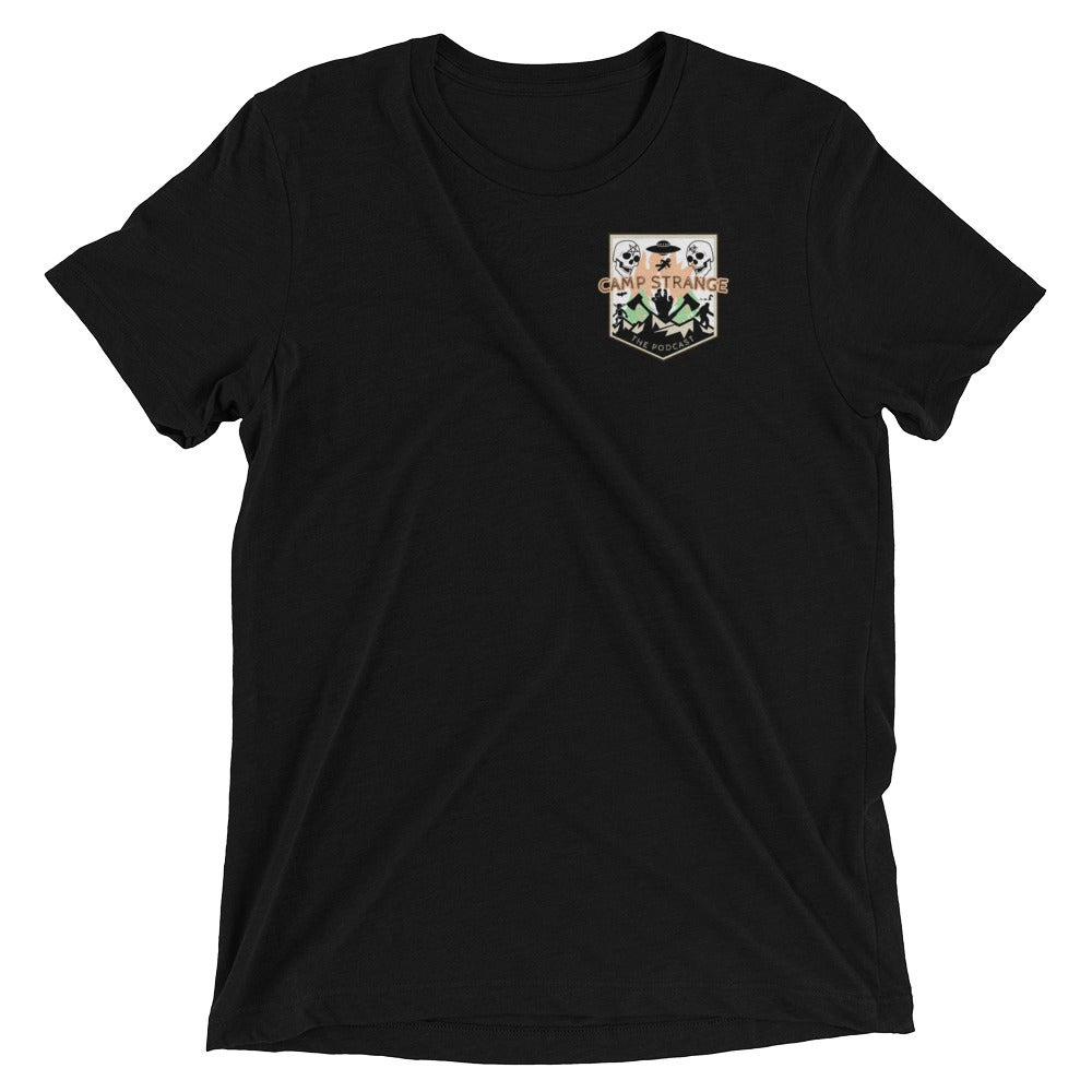 Image of CAMP STRANGE BADGE TSHIRT