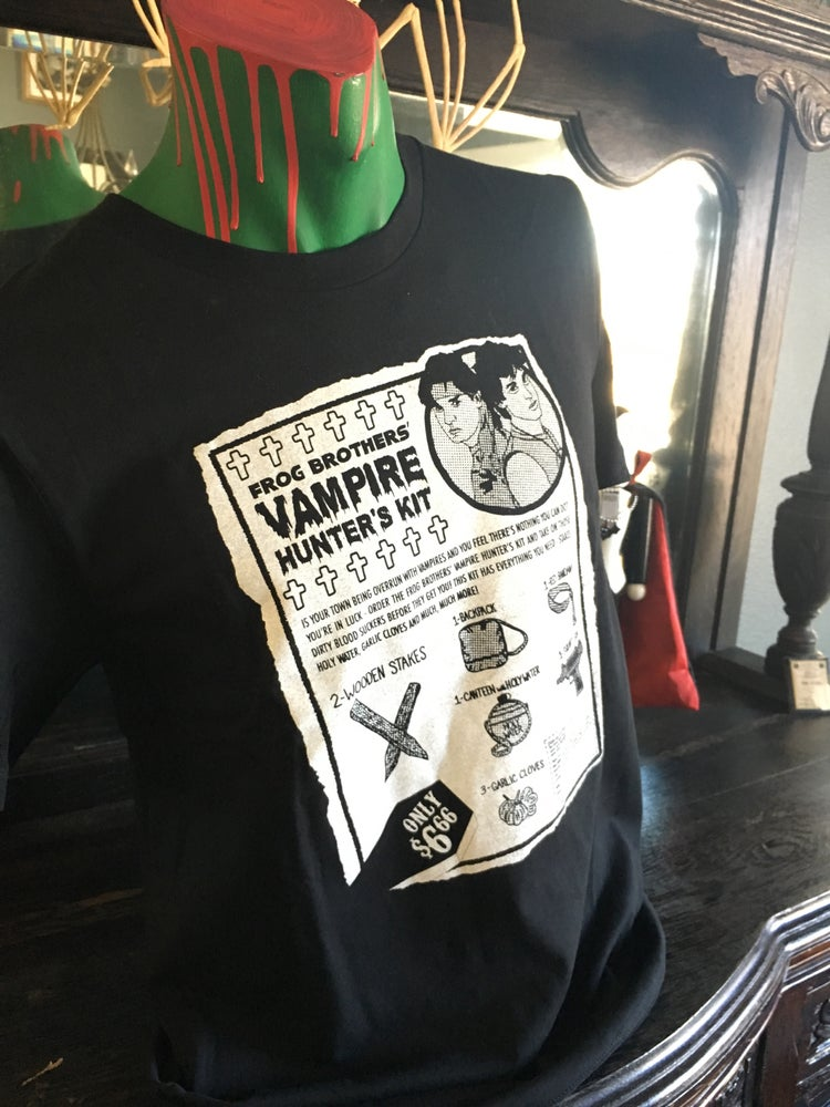 "Image of ""Frog Brothers' Vampire Hunter's Kit"" Tee"