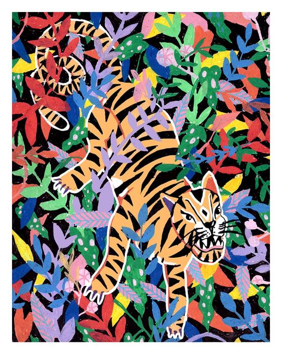 Image of Tiger ella365project postcard