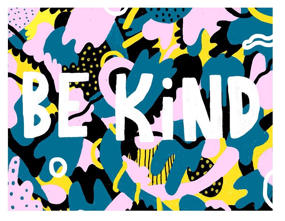 Image of Be kind ella365project postcard
