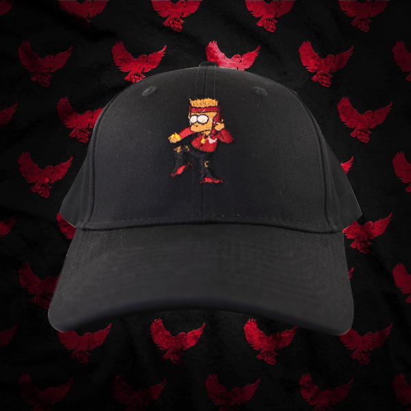 Bart Simpson Birdies Dad Hat   Birdies Clothing Co. 3395792f35d
