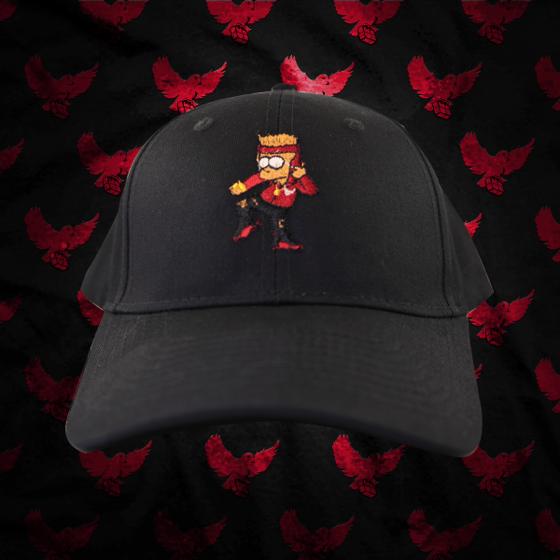 Image of Bart Simpson Birdies Dad Hat