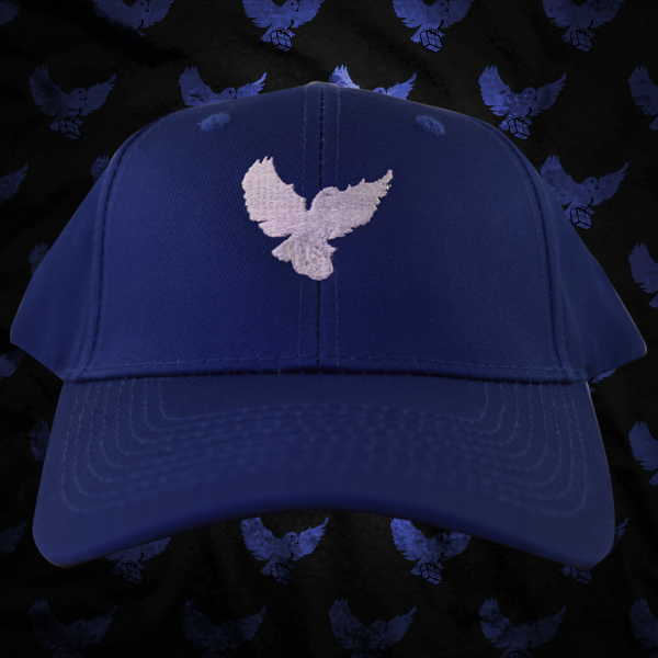 Image of Blue/White Birdies Dad Hat