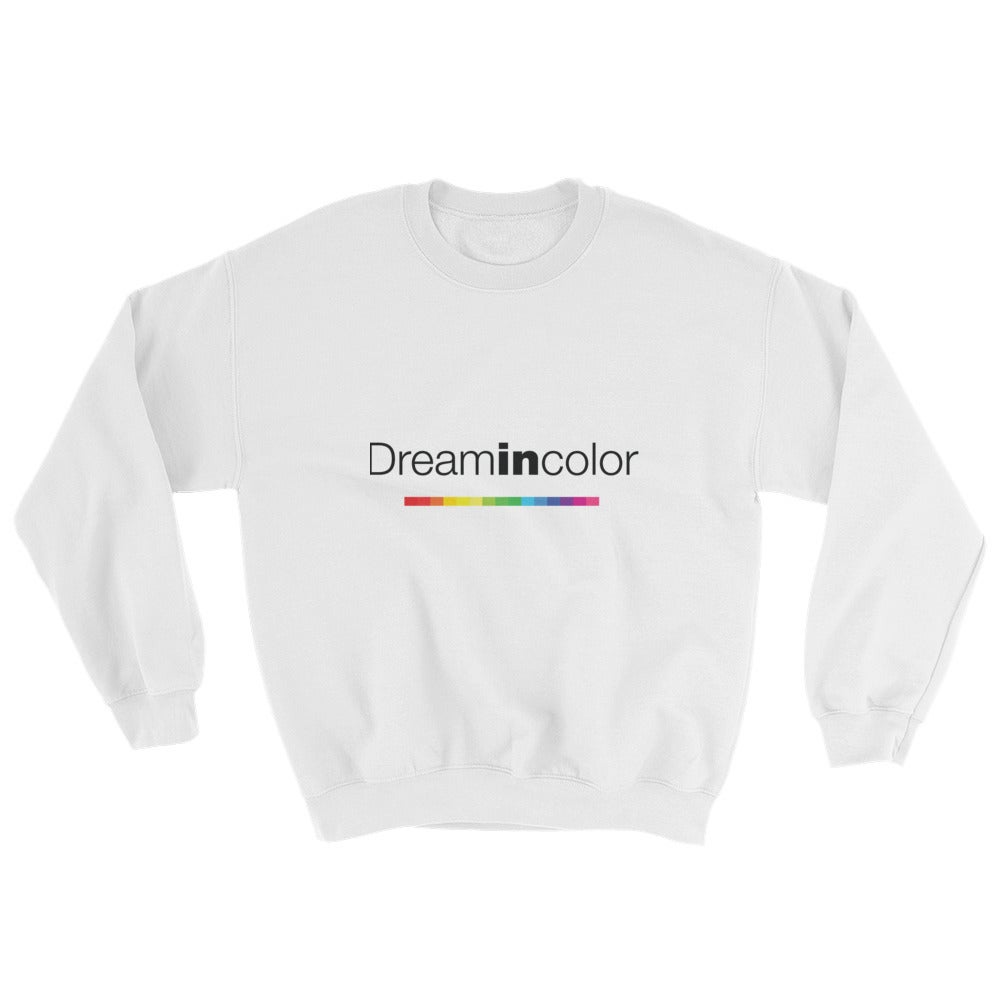Image of DreaminColor White Sweatshirt