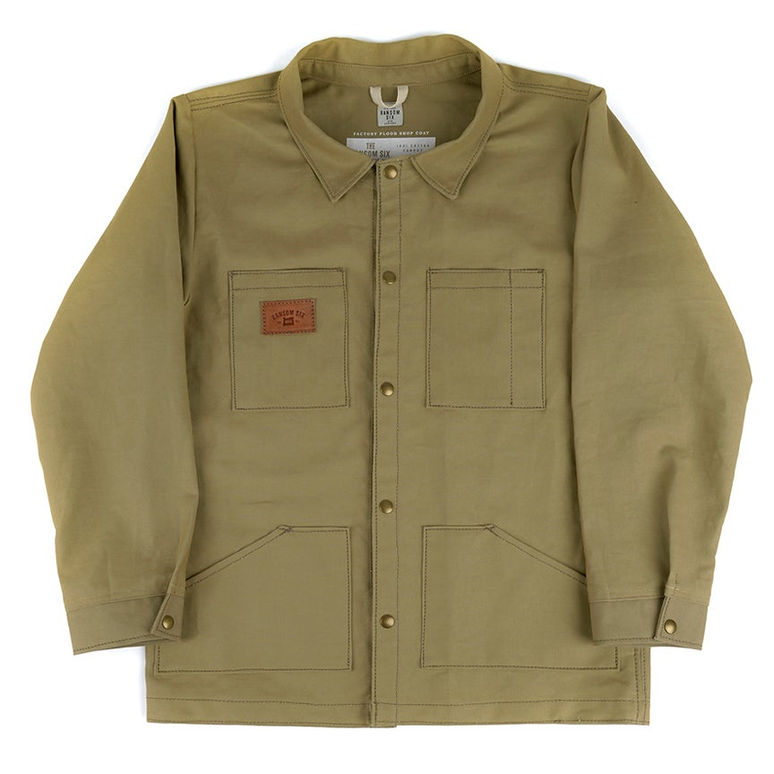Image of Factory Floor Shop Coat - Olive