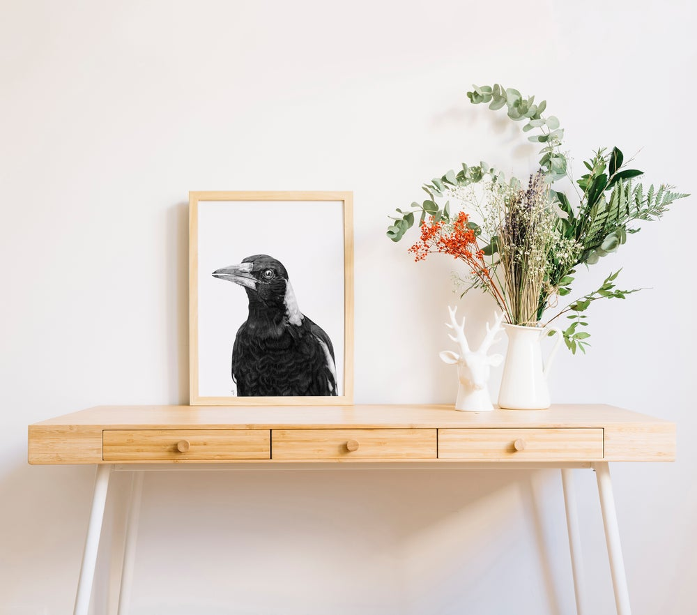 Image of Magpie Print