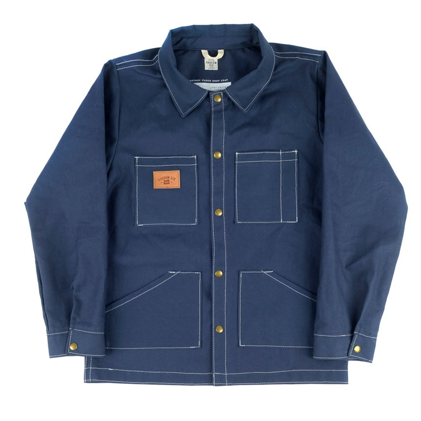 Image of Factory Floor Shop Coat - Navy