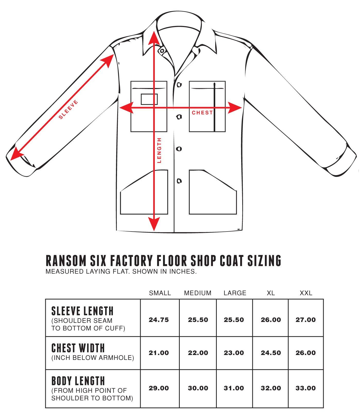 Image of Factory Floor Shop Coat - Navy