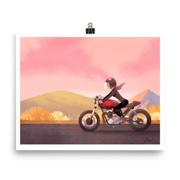 Image of Moto Ride Print