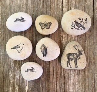 Image of Stamped Stones -  Small Treasures More arriving soon!