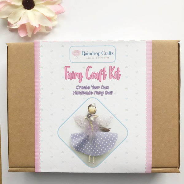 Image of Pre order Lilac Fairy Craft Kit