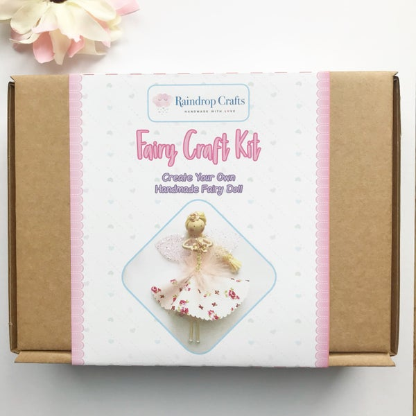 Image of Pre order - Pink Fairy Craft Kit