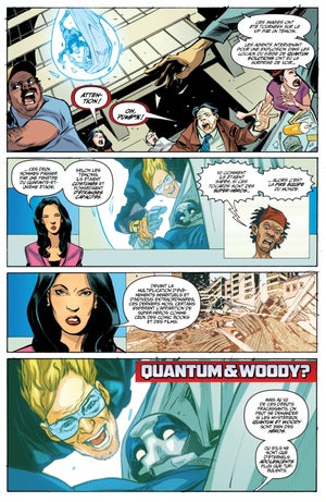 Image of Quantum and Woody Tome 1 : les pires super-héros du monde