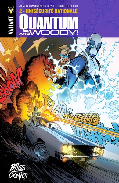 Image of Quantum and Woody Tome 2 : (in)sécurité nationale