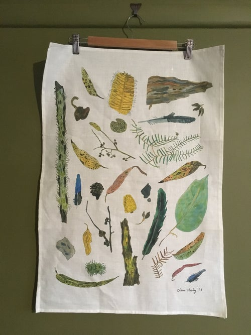 Image of Wild By Nature - Autumn - A Tea Towel