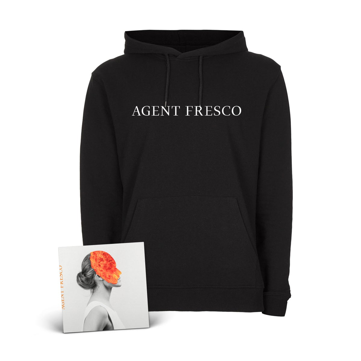 "Image of Agent Fresco ""Destrier"" CD-Hoodie-Bundle"
