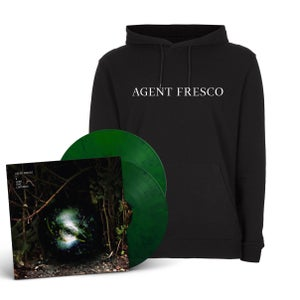 "Image of Agent Fresco ""A Long Time Listening"" LP-Hoodie-Bundle"