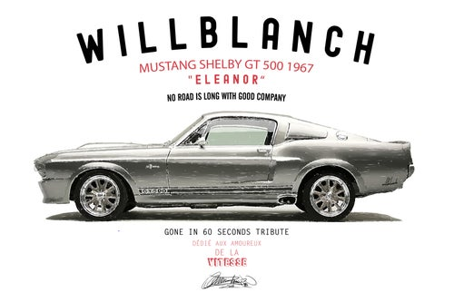Image of MUSTANG GT500 - 60´ TRIBUTE