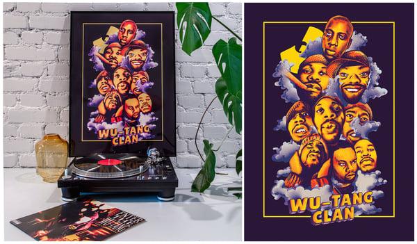 Image of Wu-Tang Clan Poster