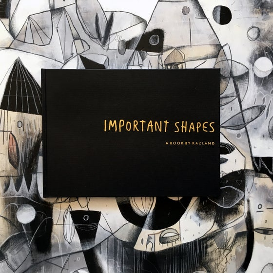 Image of IMPORTANT SHAPES (a book by kazland)