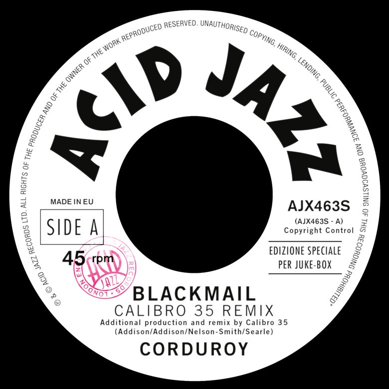 Image of Corduroy - Blackmail Remix Single (Pre-Order)