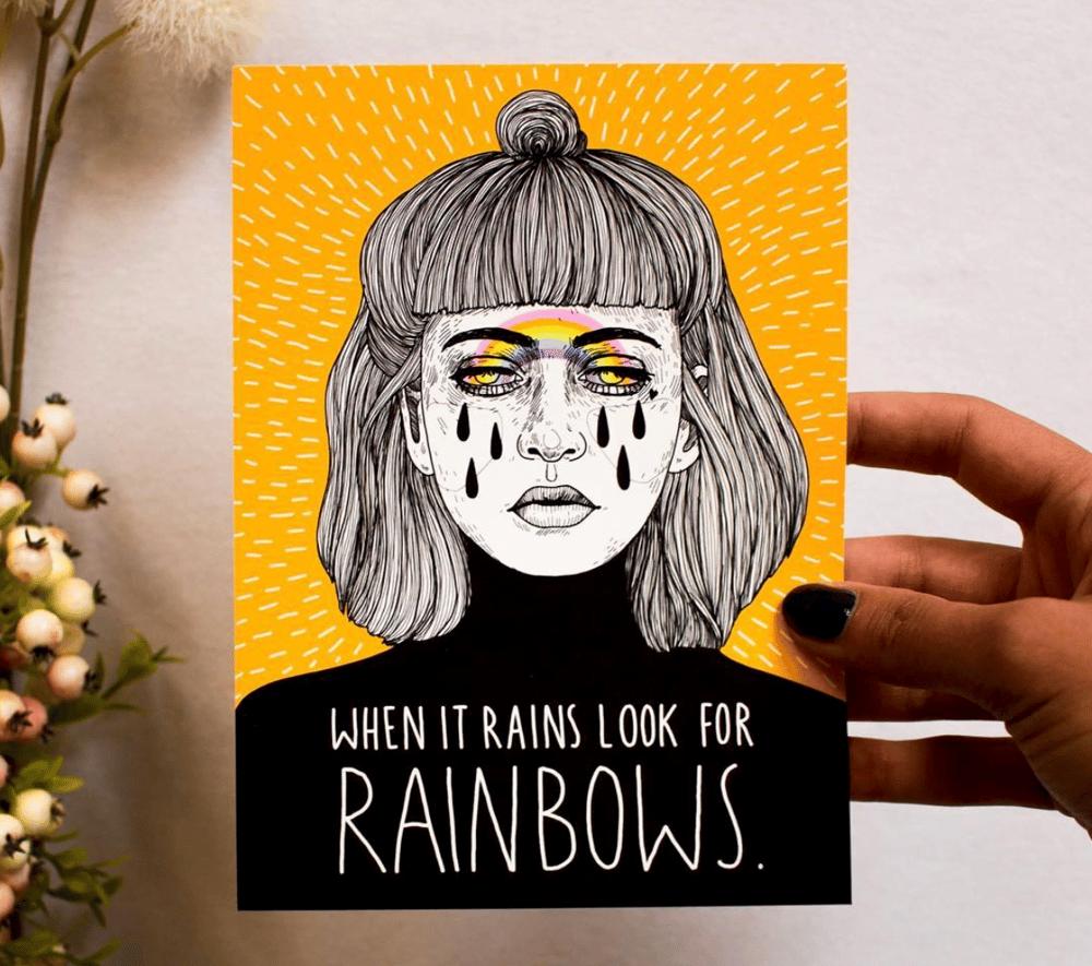 Image of Rainbows - FineArt Print (13×18cm)
