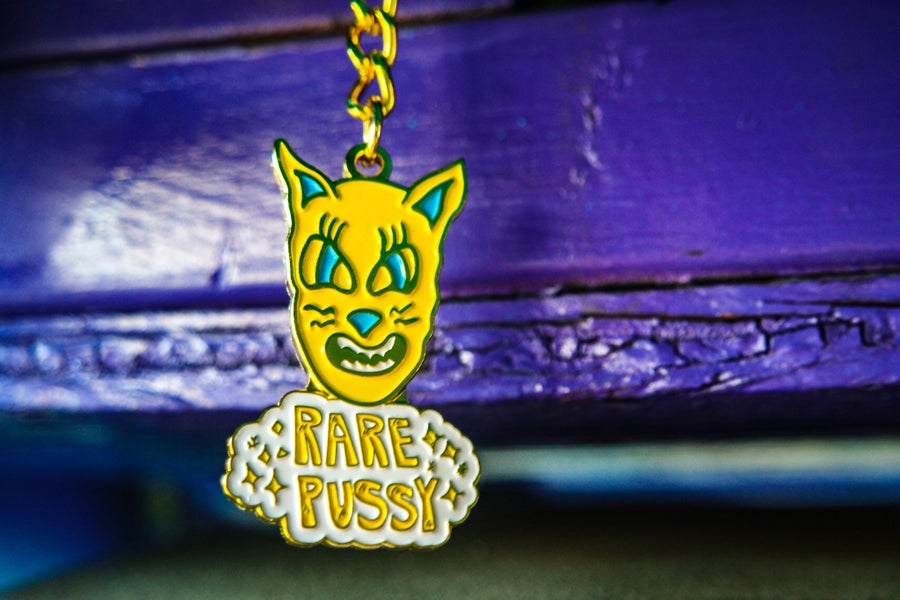 Image of RARE PUSSY KEYCHAIN