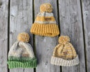 Image of Boys Donegal Beanies - Forest